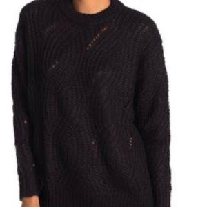 RXB   NEW   Knit Sweater   Black   Size Large